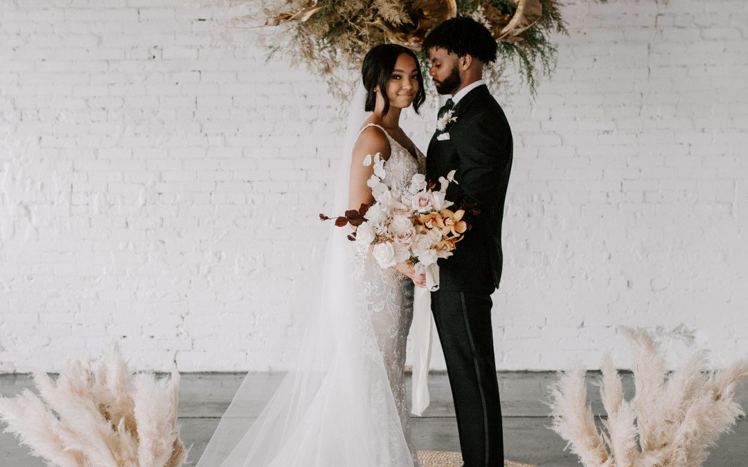 D+C's Chic Bohemian Wedding