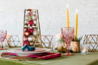 12 Days of Christmas Tabletops | 6 Geese a Laying