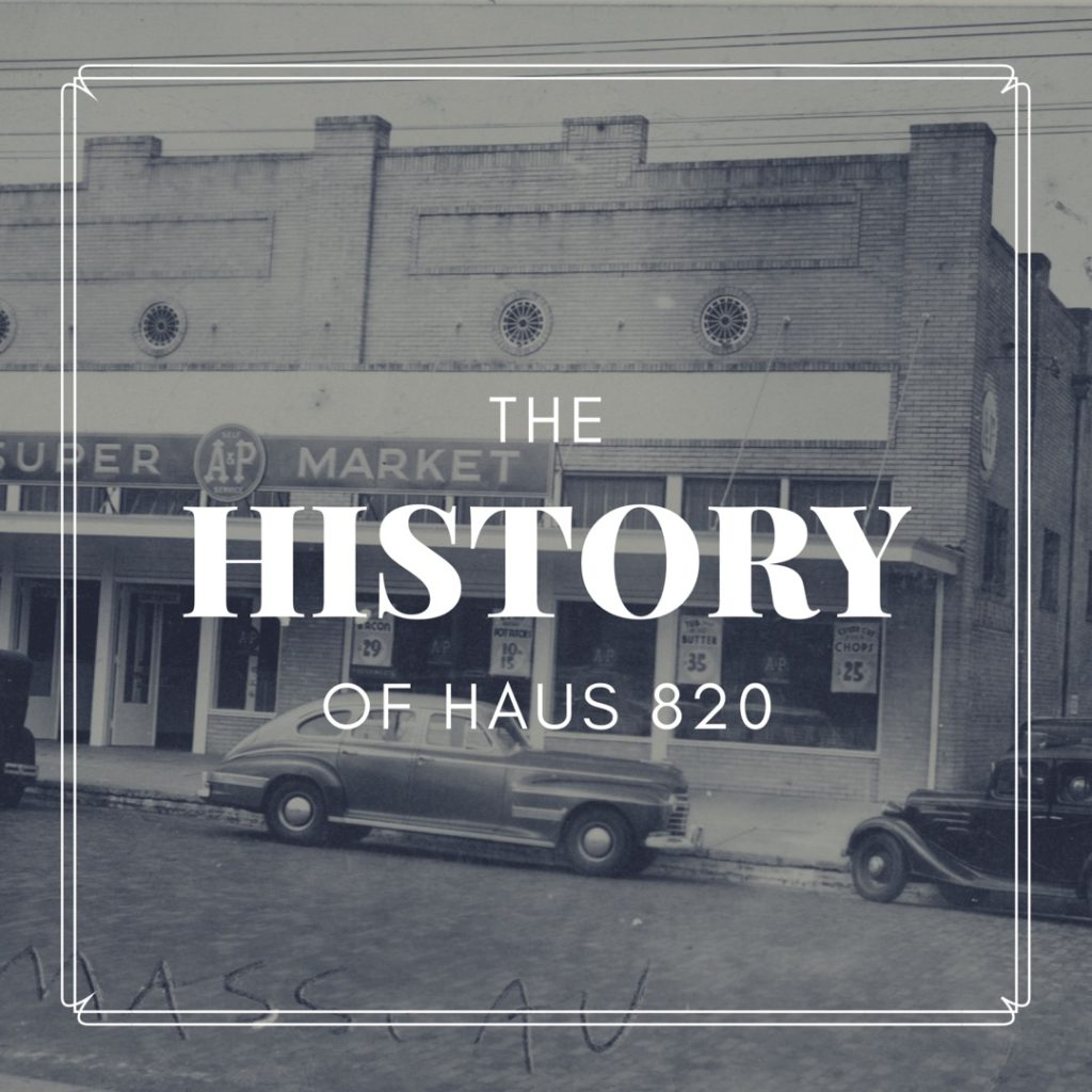 History of Haus 820 Lakeland's Newest Event Venue