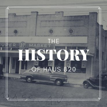 The History of Haus 820, Lakeland's newest event venue
