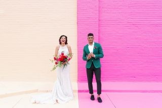Color Me Pretty: Modern + Industrial Shoot Featured on GWS