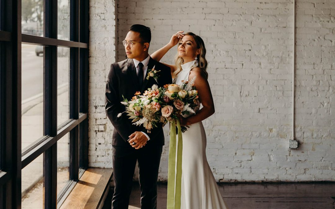 Modern Moody Styled Shoot