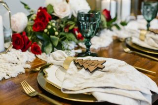 12 Days of Christmas Tabletops | 5 Golden Rings