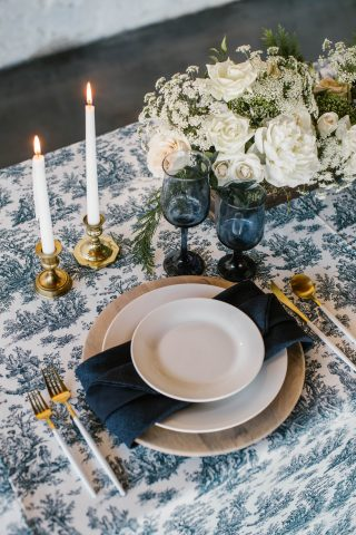 12 Days of Christmas Tabletops: 3 French Hens