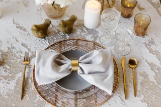12 Days of Christmas Tabletops | 2 Turtle Doves