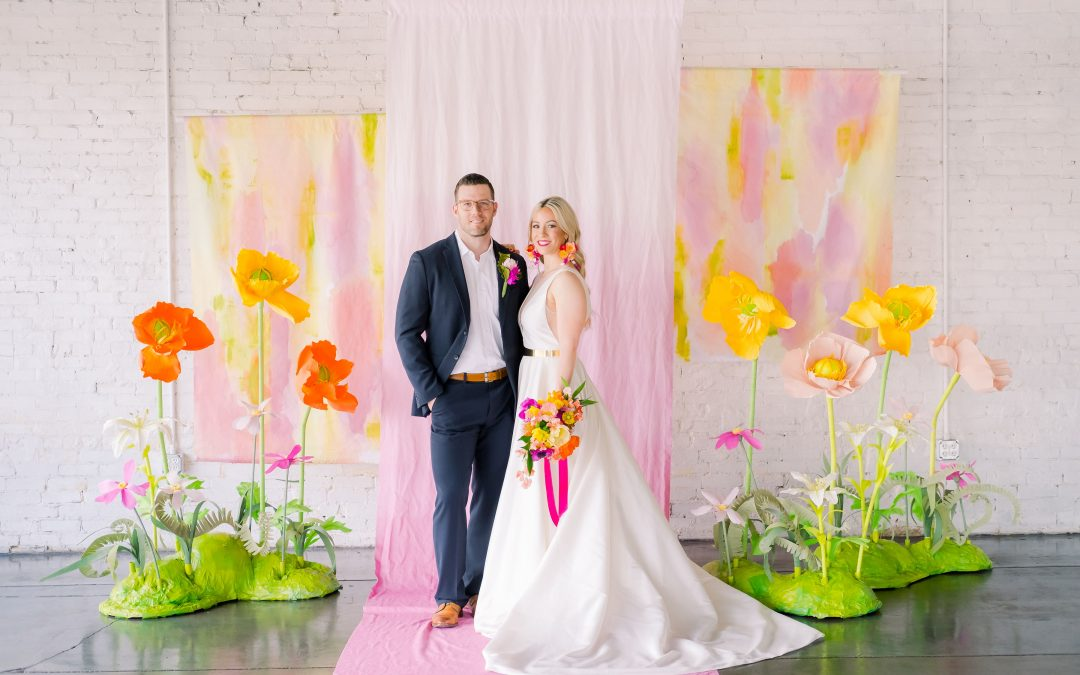 Painter's Paradise Styled Shoot Featured on GWS