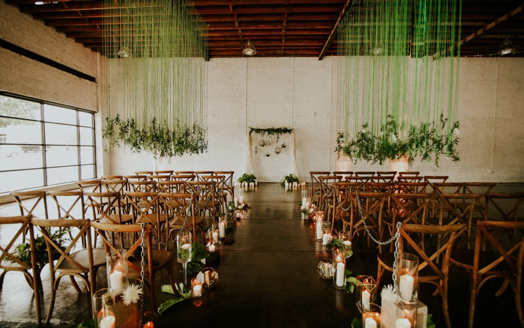 Eclectic & Edgy Industrial Wedding